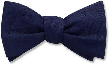 Blue Earth - bow tie